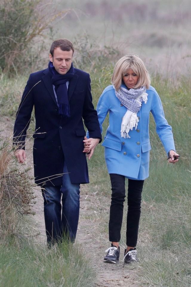 Presiden Prancis & Istri Dikecam, Beli Bunga Rp 10,3 M untuk Dekorasi Istana (287512)