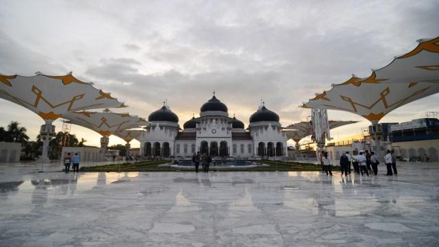 Perluasan Masjid Raya Baiturrahman di Banda Aceh