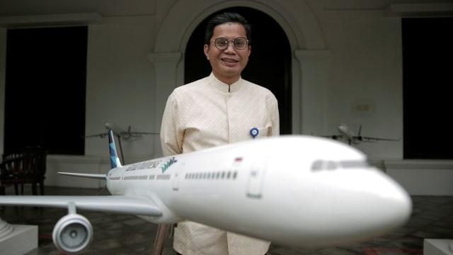 CEO PT Garuda Indonesia Pahala N Mansury