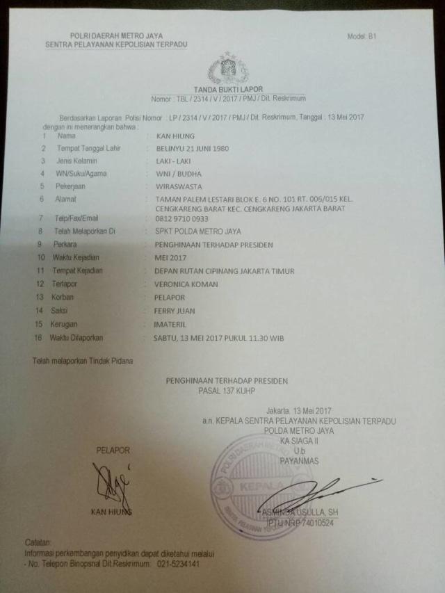 Veronica Koman dan Hal-hal yang Membuatnya Jadi DPO (292732)