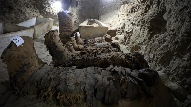 Penemuan mumi di Mesir