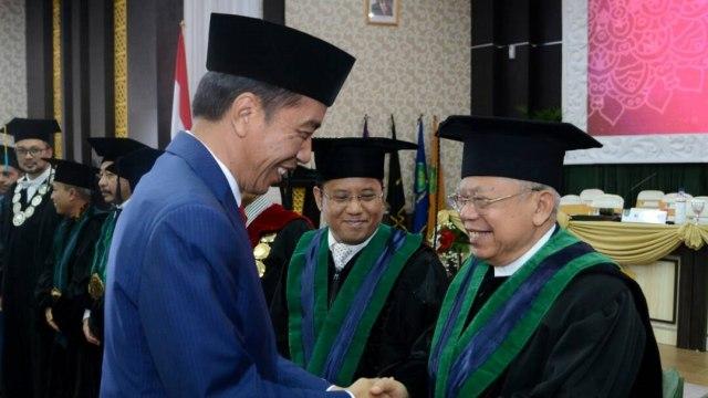 7 Momen Kedekatan Jokowi dan Ma'ruf Amin (390268)