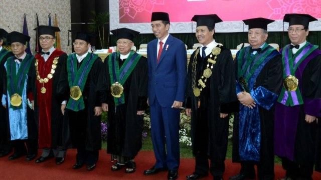 Ma'ruf Amin dan Gelar Profesor Doktor Bidang Ekonominya (59426)