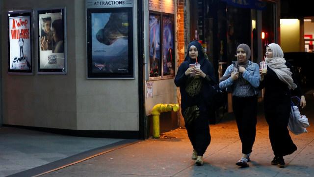 Muslim di Amerika menjalankan Ramadan