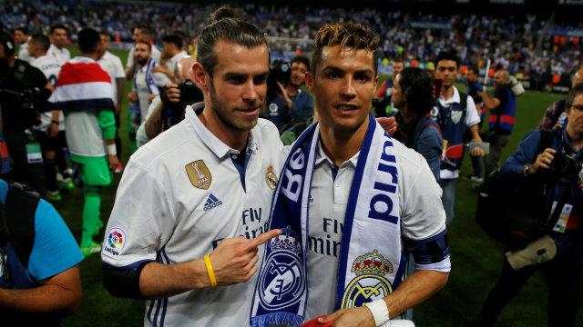Sebelum Pensiun, Sir Alex Pernah Ingin Duetkan Ronaldo dan Bale di Man United (20197)