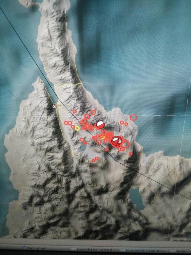 Sesar aktif di Sulawesi Tengah