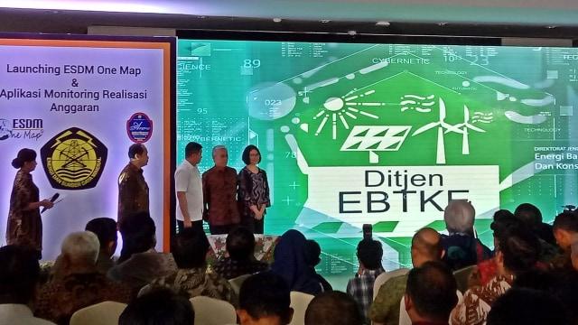 Jonan Luncurkan ESDM One Map, Bank Data Sektor Energi Indonesia (114271)