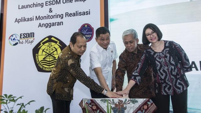 Jonan Luncurkan ESDM One Map, Bank Data Sektor Energi Indonesia (114272)