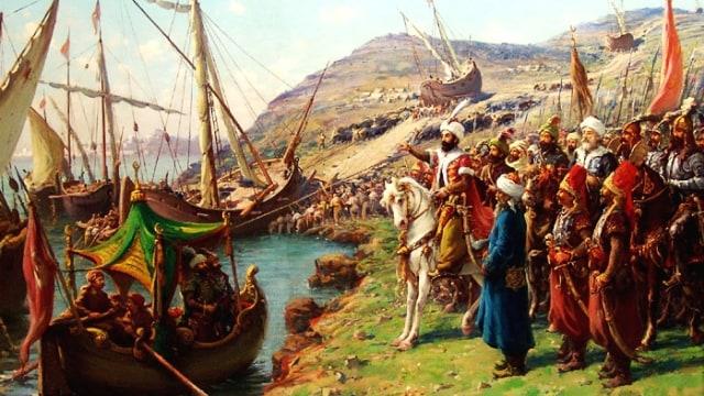 Penaklukan Konstantinopel.