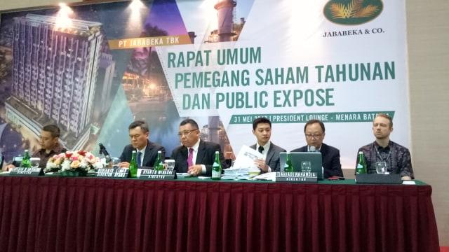 Rapat Pemegang Saham dan Public Expose PT Jababeka