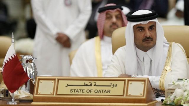 Emir Qatar Tamim bin Hamad al-Thani