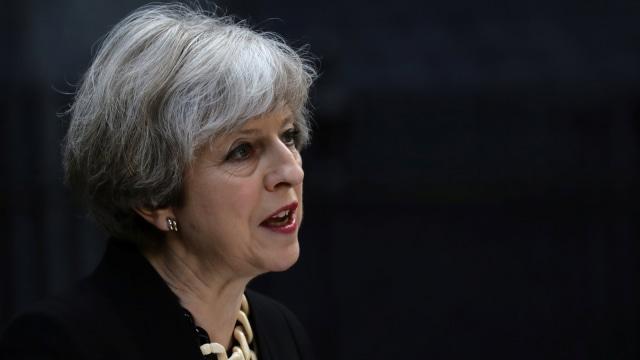 Perdana Menteri Theresa May