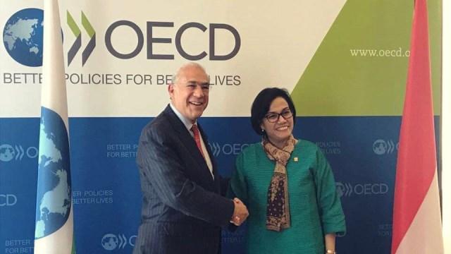 Sri Mulyani di OECD