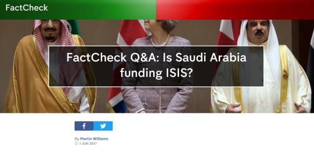 Apakah Arab Saudi Danai ISIS? (52994)