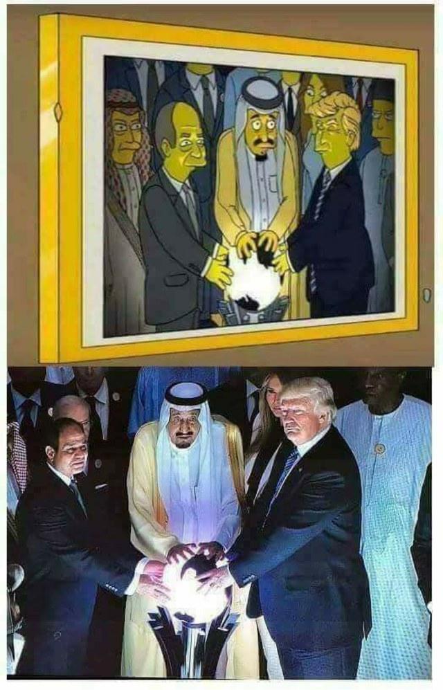 Hoaxbuster: The Simpsons Prediksi Momen Donald Trump dan Raja Salman (266846)