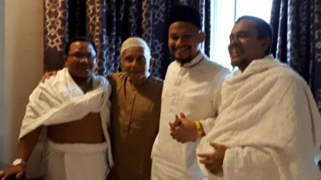 Pertemuan Amien Rais dan Habib Rizieq (NOT COVER)