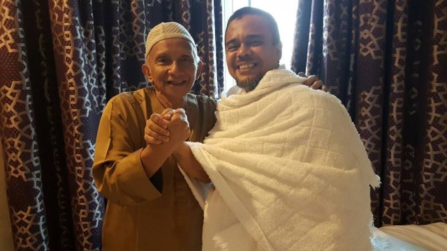 Pertemuan Amien Rais dan Habib Rizieq di Mekkah