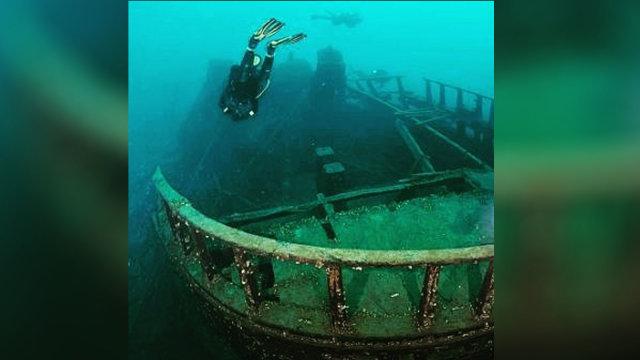 Menyelam di Pulau Lengkuas Melihat Bangkai Kapal Indomarine (54699)