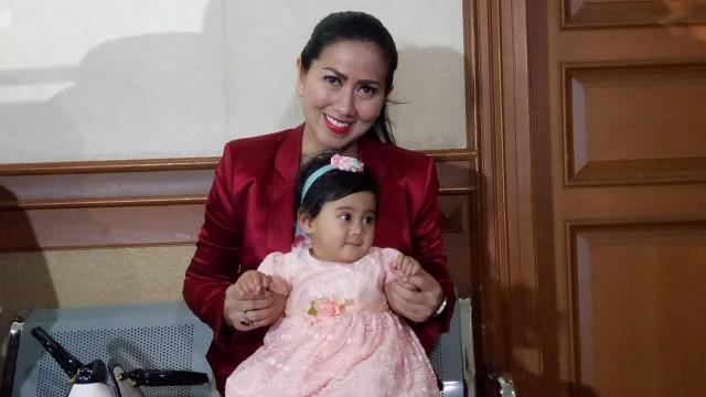 Venna Melinda di Pengadilan Agama Jakarta Selatan