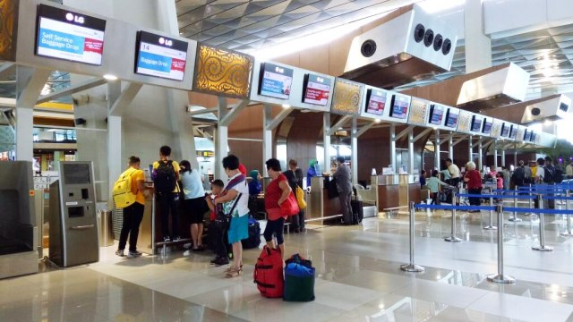 Counter Check Terminal 3 Bandara Soetta
