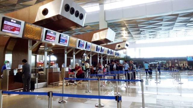 Counter Check Terminal 3 Bandara Soetta