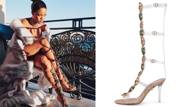 Rihanna Kolaborasi dengan Manolo Blahnik Rilis Sepatu Rp 31 Jutaan (43718)