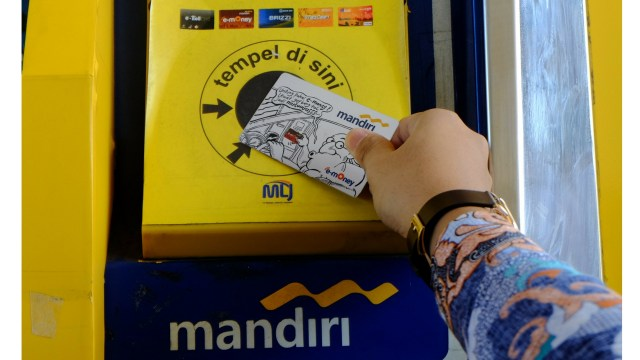 Bank Mandiri Incar Transaksi E-money Rp 17,42 Triliun di 2019  (168591)