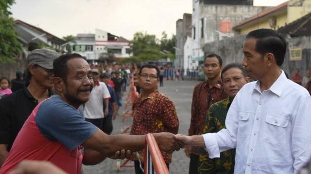 Jokowi di Solo