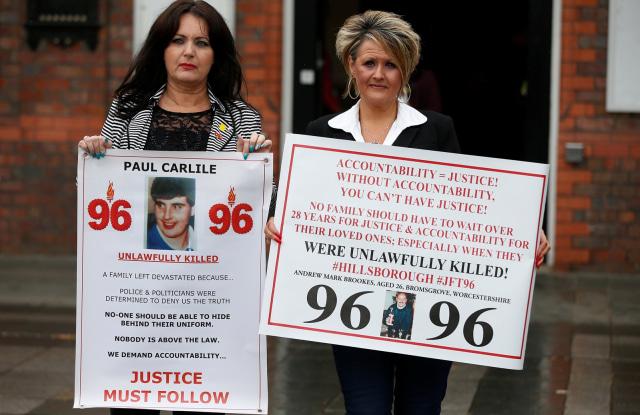 Keluarga korban tragedi Hillsborough