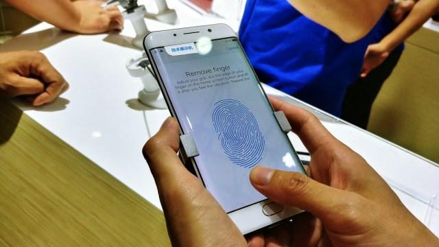 Teknologi pemindai sidik jari di layar Qualcomm