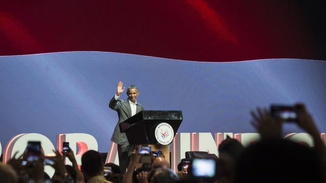 Obama di Kongres Diaspora Indonesia ke-4