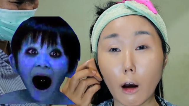 Jisun mirip hantu Jepang