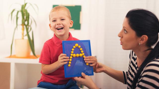 Ilustrasi  anak berkebutuhan khusus