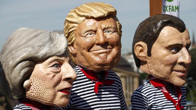 Demonstran Anti G20