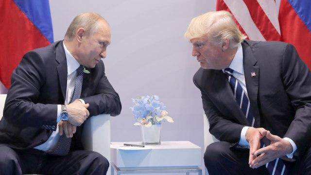 Pertemuan Trump dan Putin