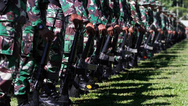 Ilustrasi anggota TNI AD