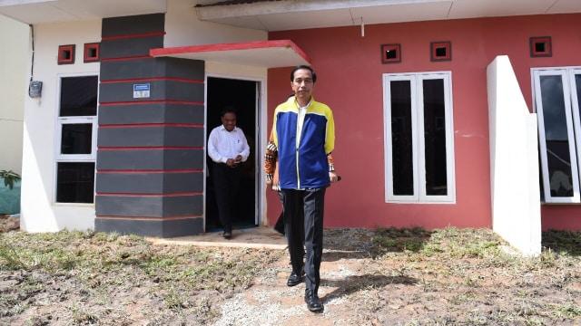 Jokowi resmikan Perumahan Pesona Bukit Batuah