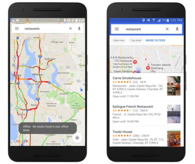 Google Maps (Peta Offline)