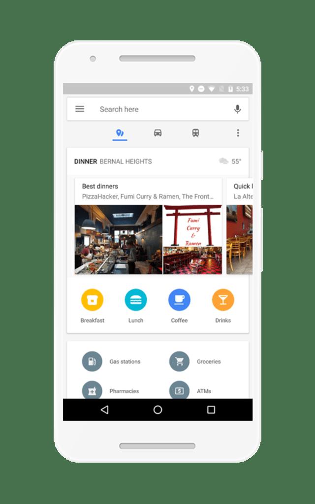 Google Maps (Tempat Makan dan Kafe)