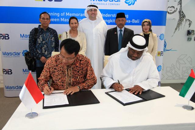 PJB Gandeng Perusahaan Abu Dhabi Kembangkan Energi Terbarukan (1083389)