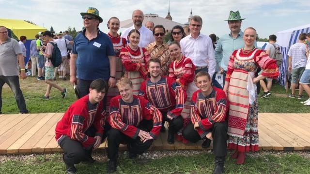 Festival Metimun di Suzdal