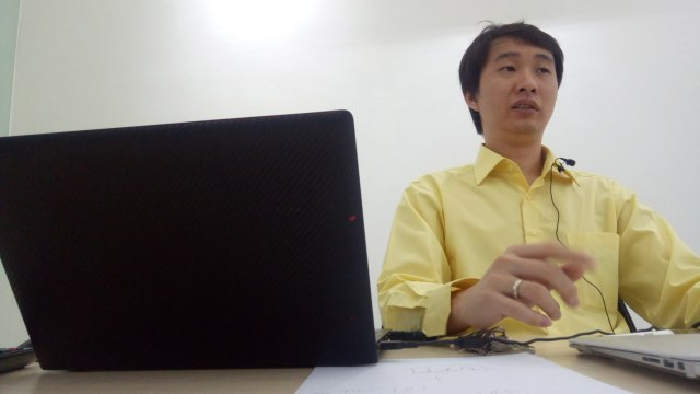CEO bitcoin.co.id Oscar Darmawan