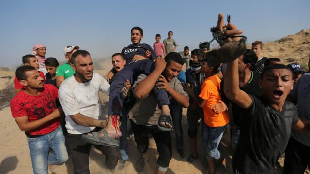 Seorang Remaja Palestina Tewas Ditembak Tentara Israel, 6 Lainnya Terluka (21227)