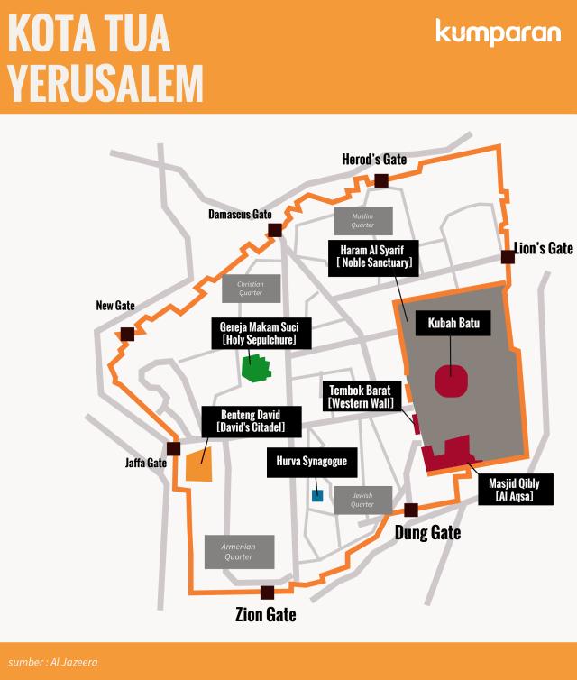 Masjid Al-Aqsa di Pusaran Konflik Tiga Agama (484975)