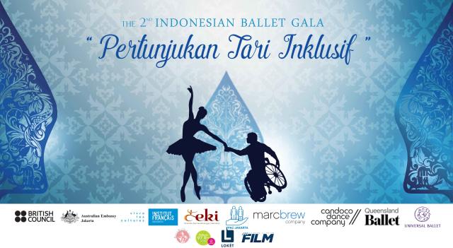 2nd Indonesian Ballet Gala : Pertunjukan Tari Inklusif (83535)