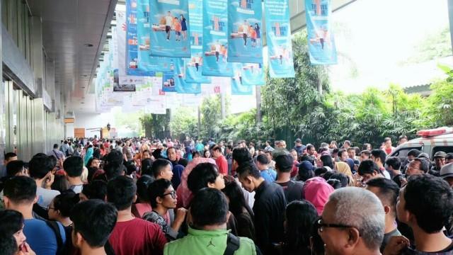 Perjuangan Berat Berburu Tiket Kereta Di Kai Travel Fair