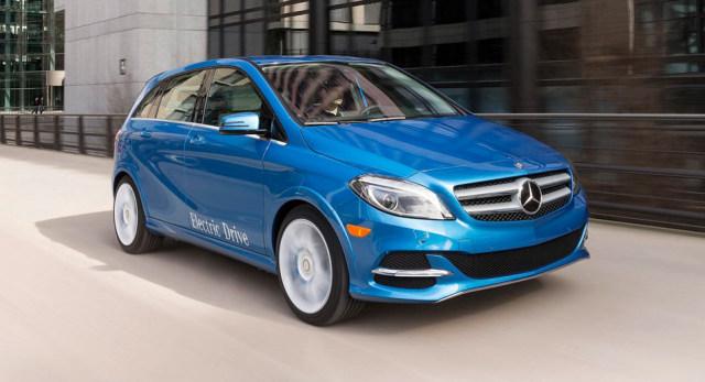 Mercedes B Class >> Mercedes Benz Setop Produksi B Class Electric Drive