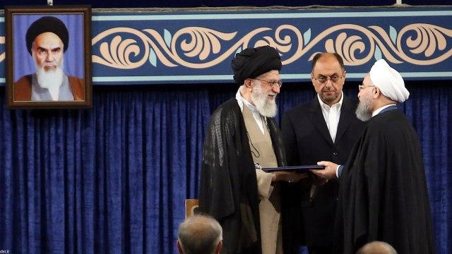 Khamenei Secara Resmi Restui Rouhani Pimpin Kembali Iran (749134)