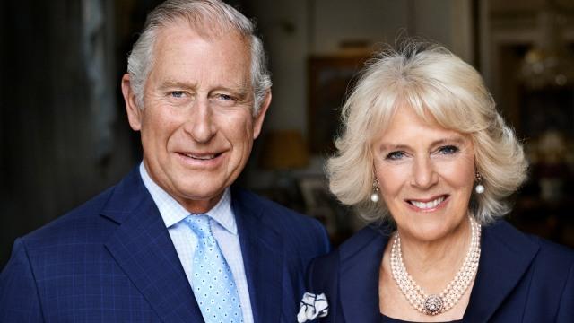 Camilla bersama Pangeran Charles