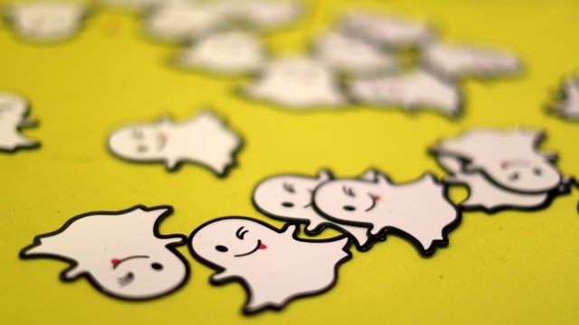 Snapchat (Ilustrasi)
